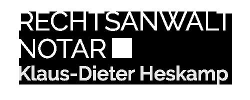 Rechtsanwalt und Notar Klaus Heskamp Hannover